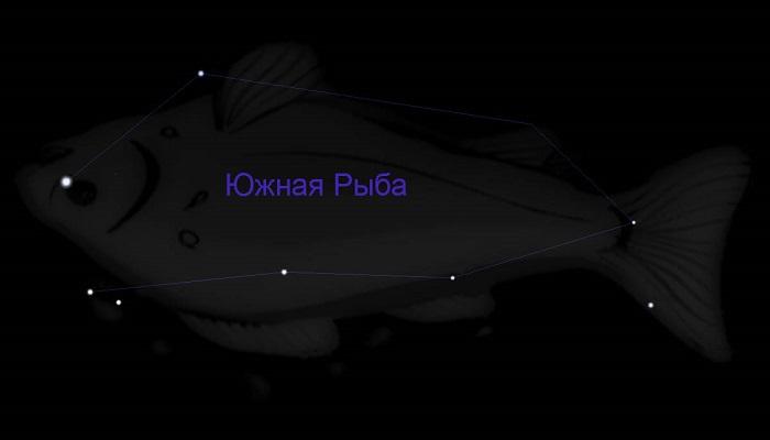 Созвездие Южная Рыба