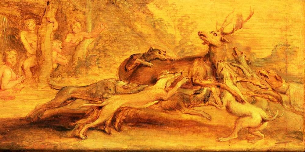 Актеон и его собаки