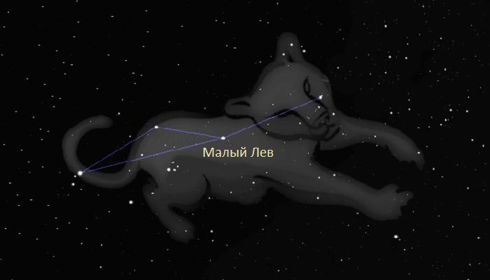 Созвездие Малый Лев