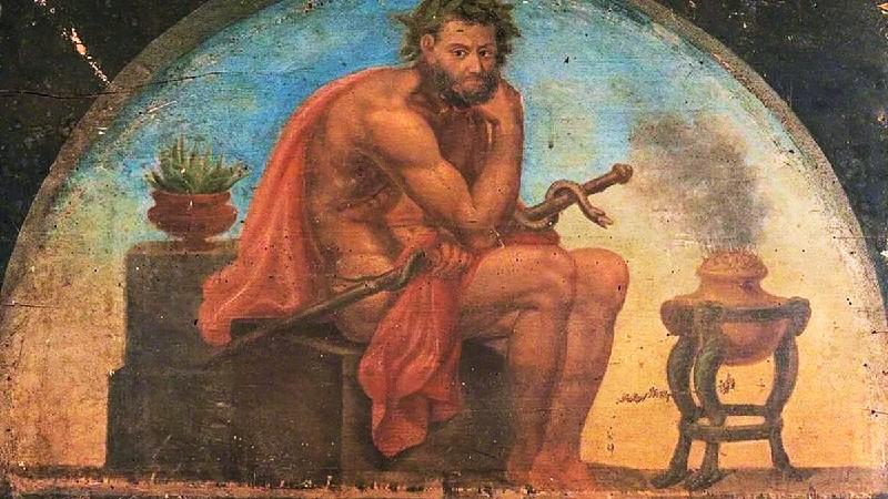 Асклепий (иллюстрация)
