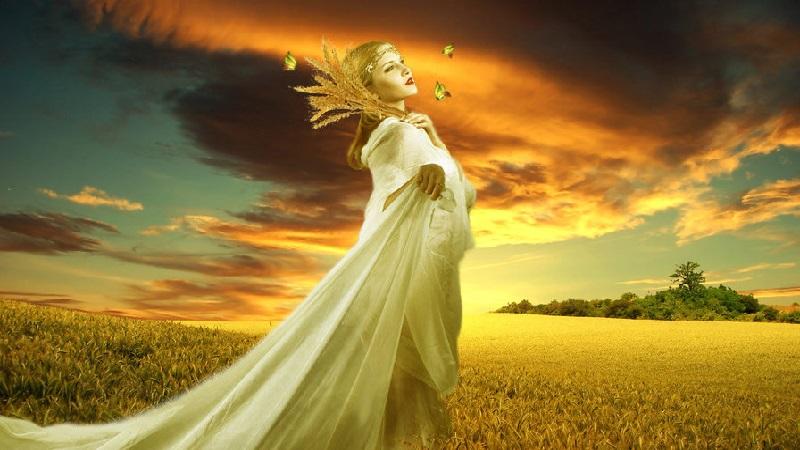 Деметра - богиня плодородия и земледелия