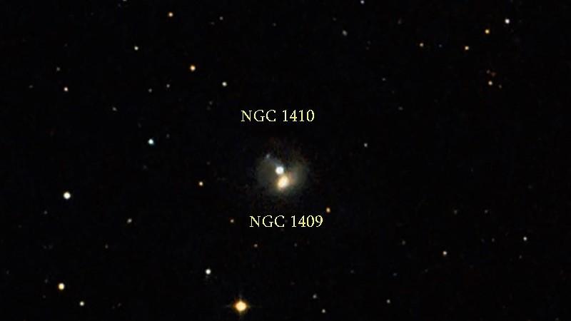 NGC 1409 и NGC 1410