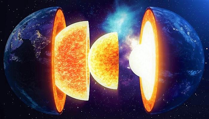 Внутренне и внешнее ядра Земли