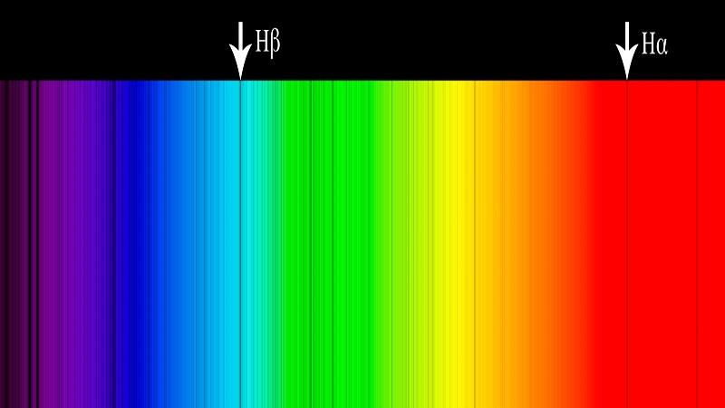 Солнечный спектр