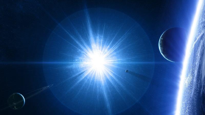 Светящаяся звезда