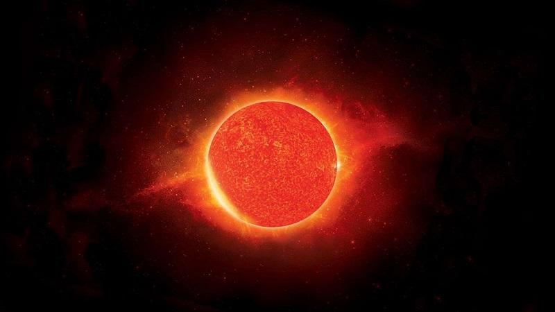 Антарес ( красный сверхгигант, так же представитель самых ярких звёзд)