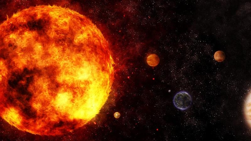 Солнце в Солнечной системе