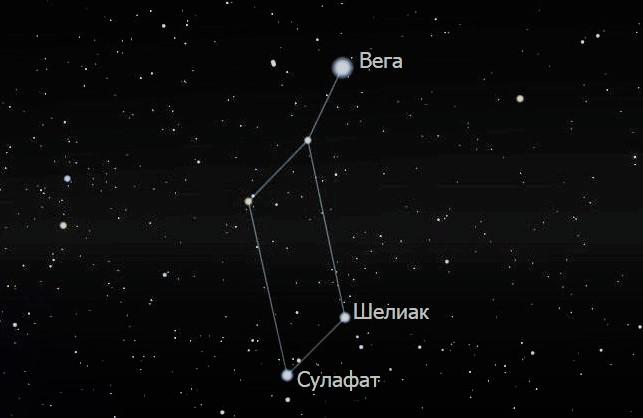 Звёзды Лиры