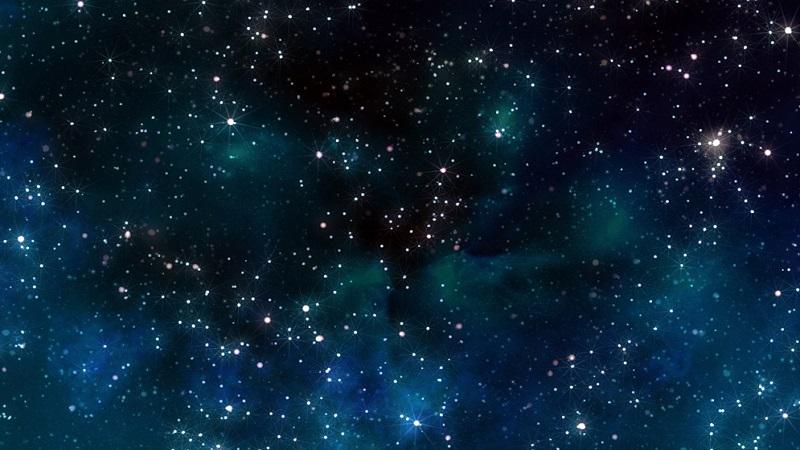 звёзды в космосе