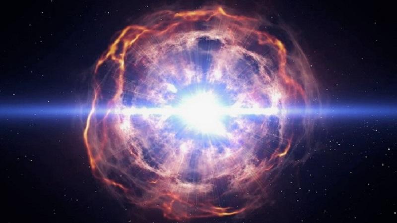 Рождение сверхновой звезды