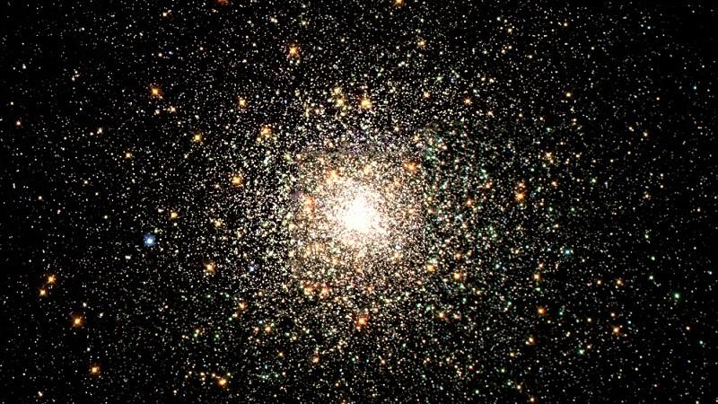 Скопление M 80 в созвездии Скорпиона
