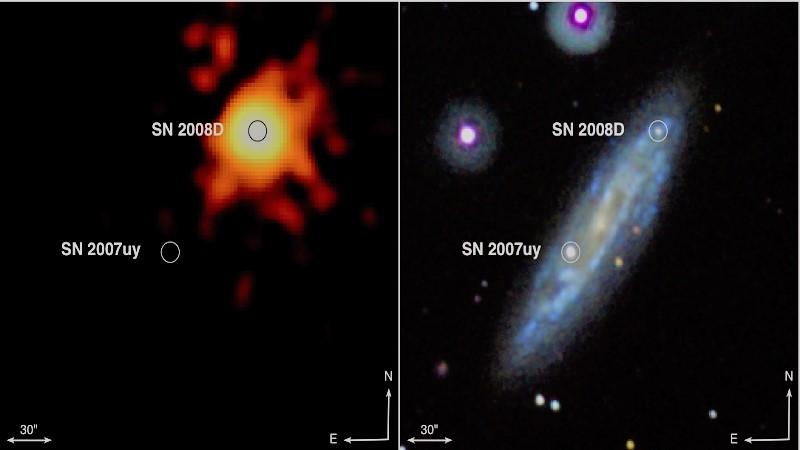 Сверхновая типа Ib SN 2008D