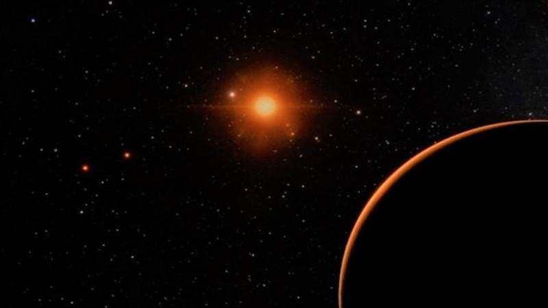 Звезда Барнарда (одна из самых холодных звёзд)