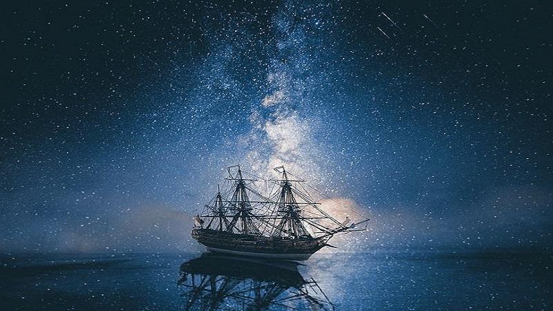 Звёзды над морем