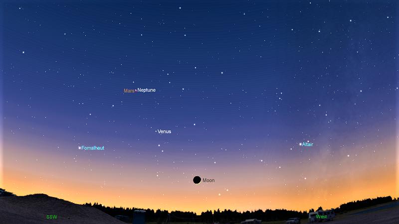 Марс и Венера на небе