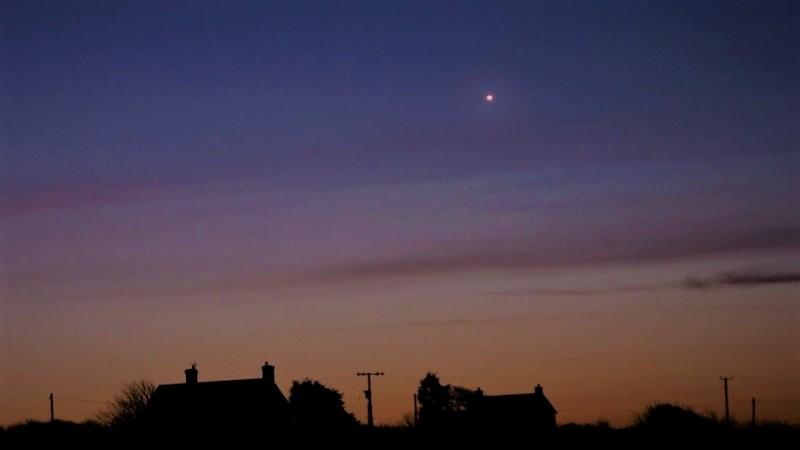 Венера на утреннем небе