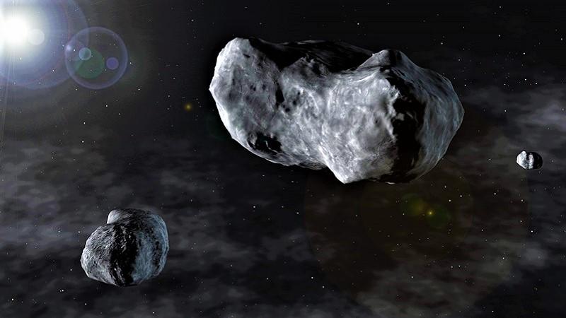 Астероид Сильвия (изображение)
