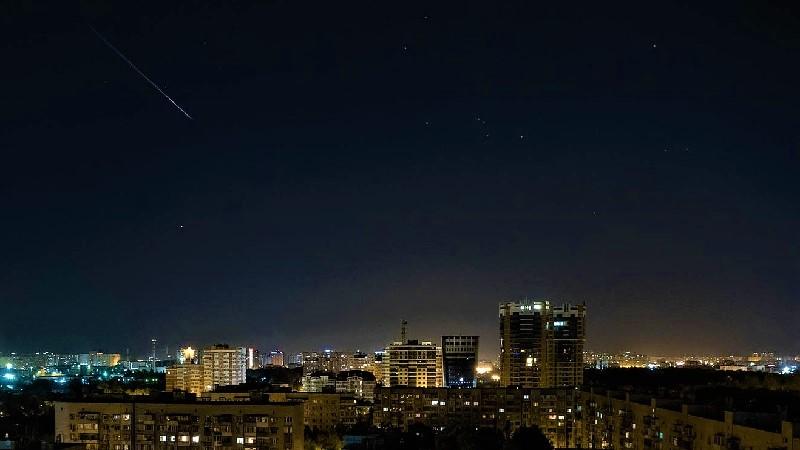 Городское ночное небо