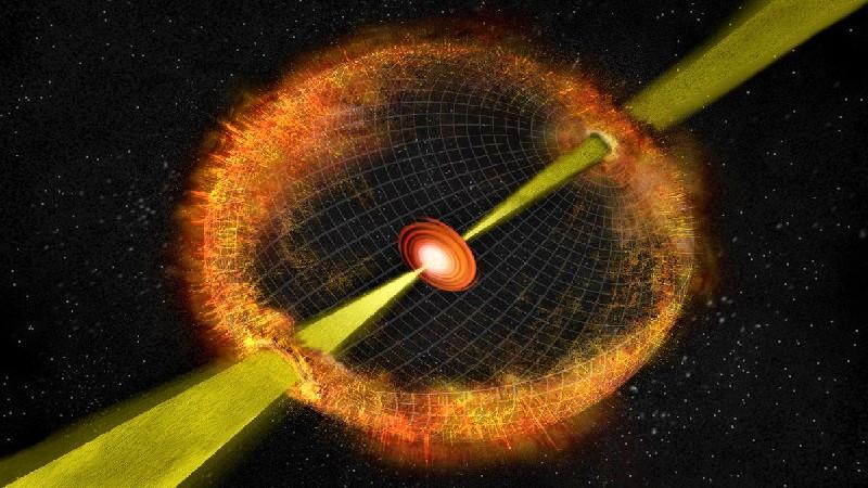 Гравитационный коллапс звезды