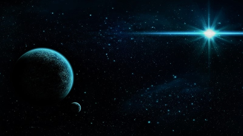 Планета и звезда