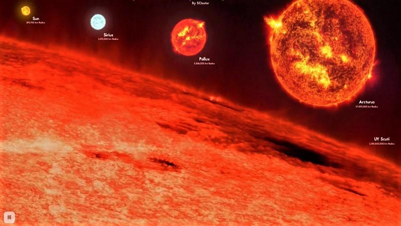 UY Щита (Красный гипергигант)
