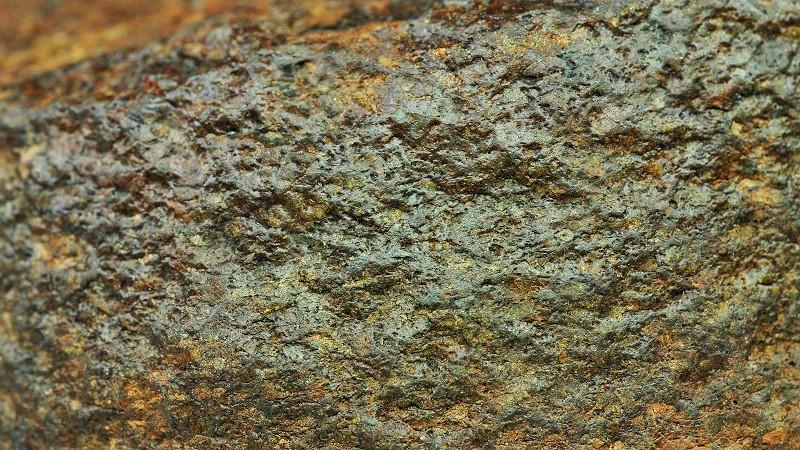 Текстура метеорита