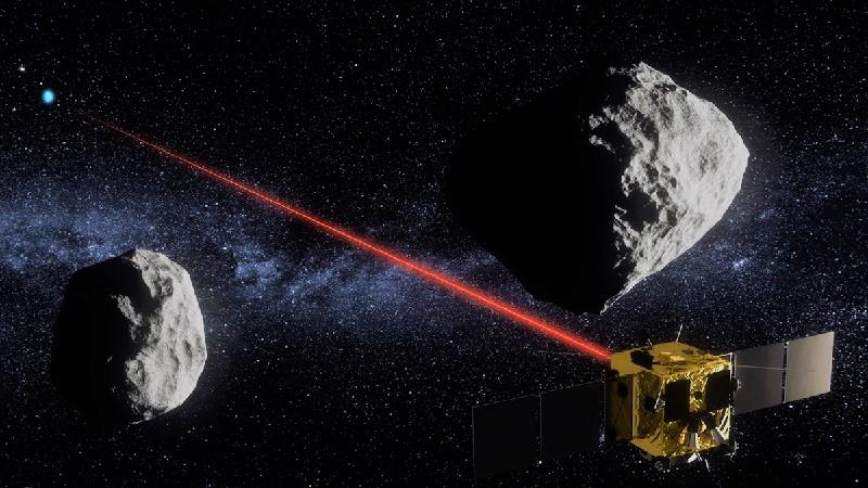 Ионный луч против астероидов