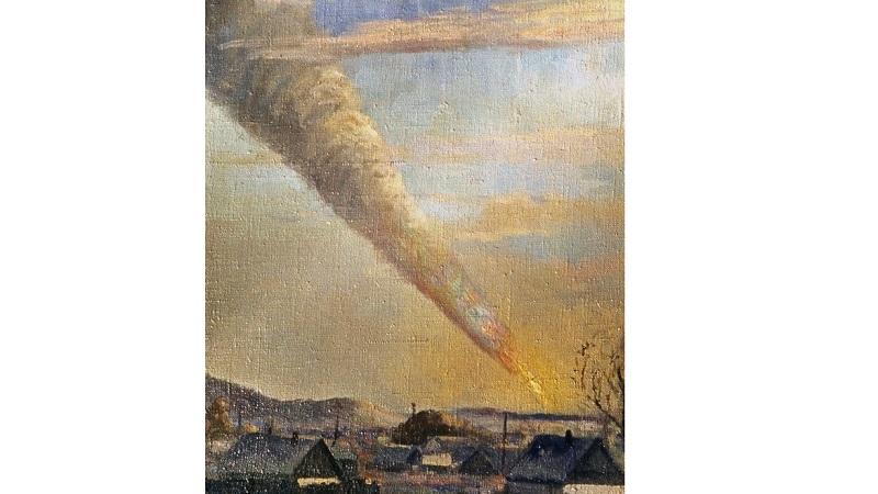 Падение Сихотэ-Алинского метеорита