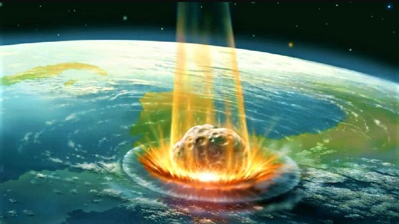 Столкновение астероида с Землёй