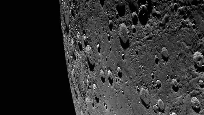 Фрагмент поверхности Меркурия