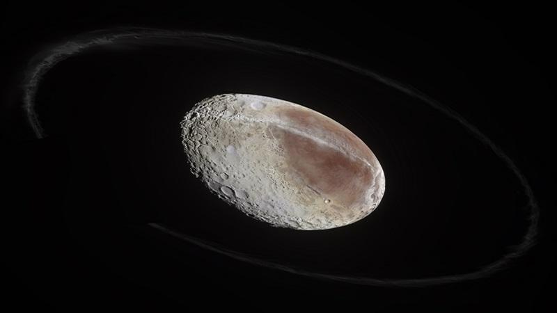 Хаумеа (карликовая планета необычной формы)