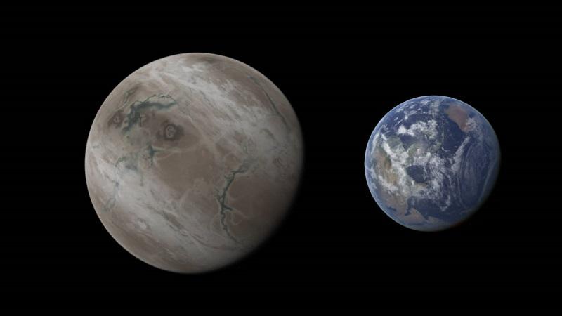 Kepler 452b и Земля