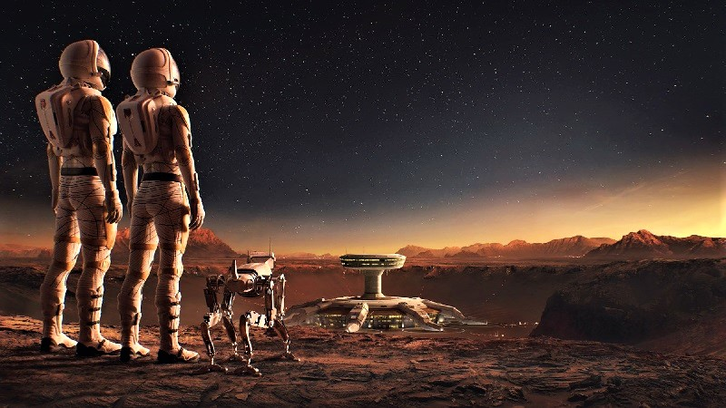 Люди на другой планете