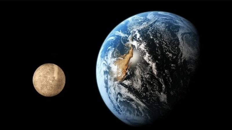 Меркурий и Земля