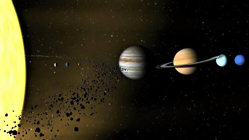 Пояс астероидов в Солнечной системе
