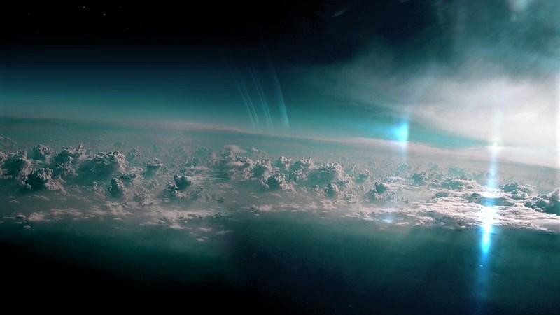 Верхние слои атмосферы планеты