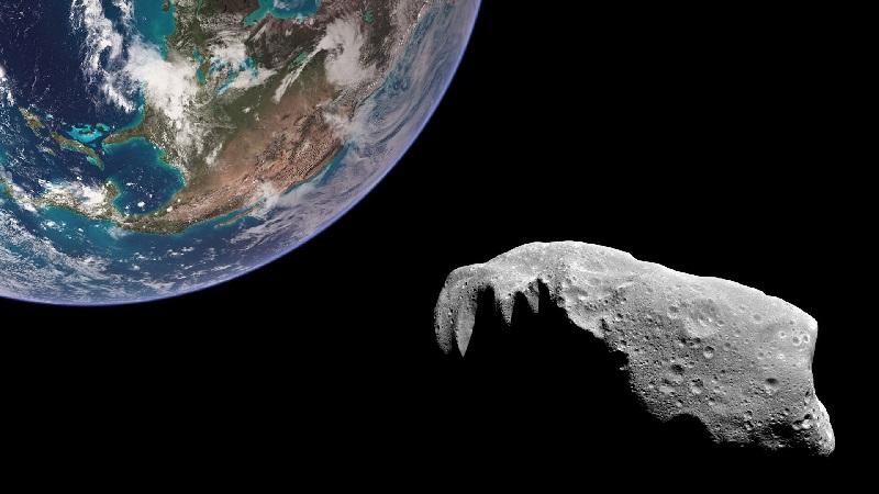 Апофис рядом с Землёй (изображение)