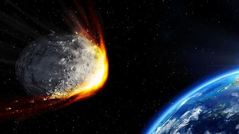 Астероид летит к Земле (изображение)