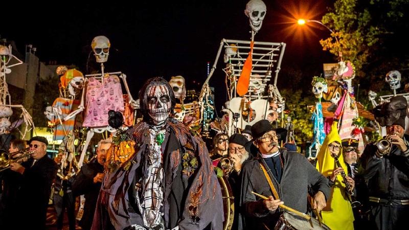 Хэллоуин в Нью Йорке