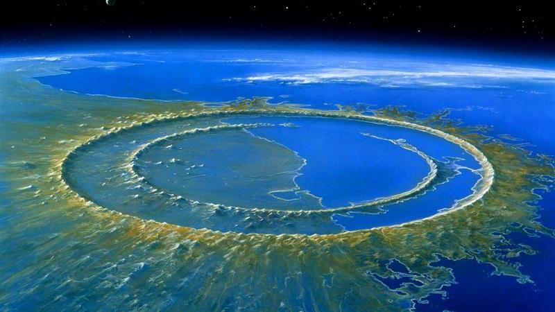 Кратер Чиксулуб (полуостров Юкатан)