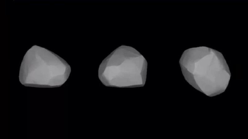 Модель астероида (5) Астрея