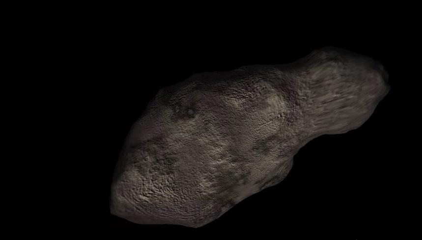 Модель астероида Апофис