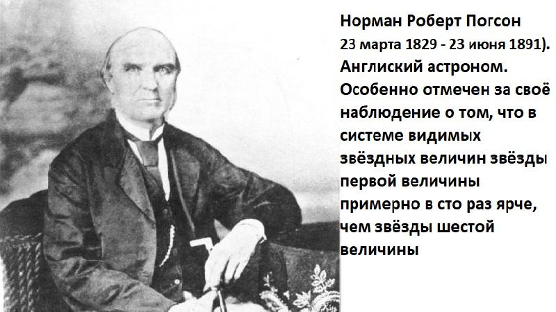 Норман Роберт Погсон