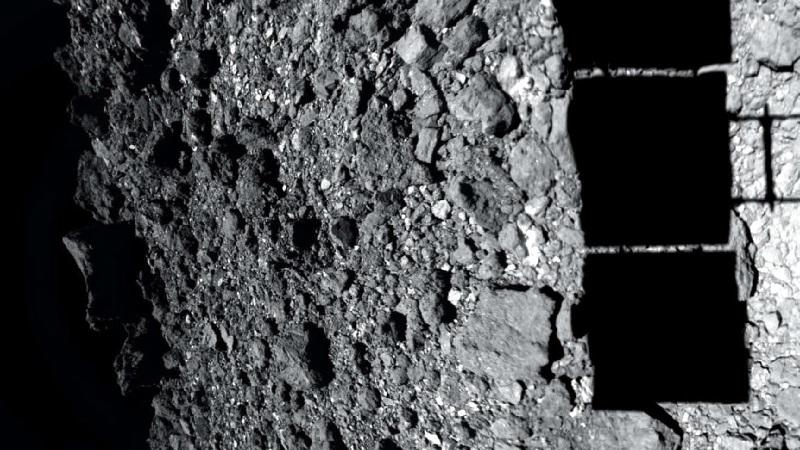 Поверхность астероида (изображение 1)